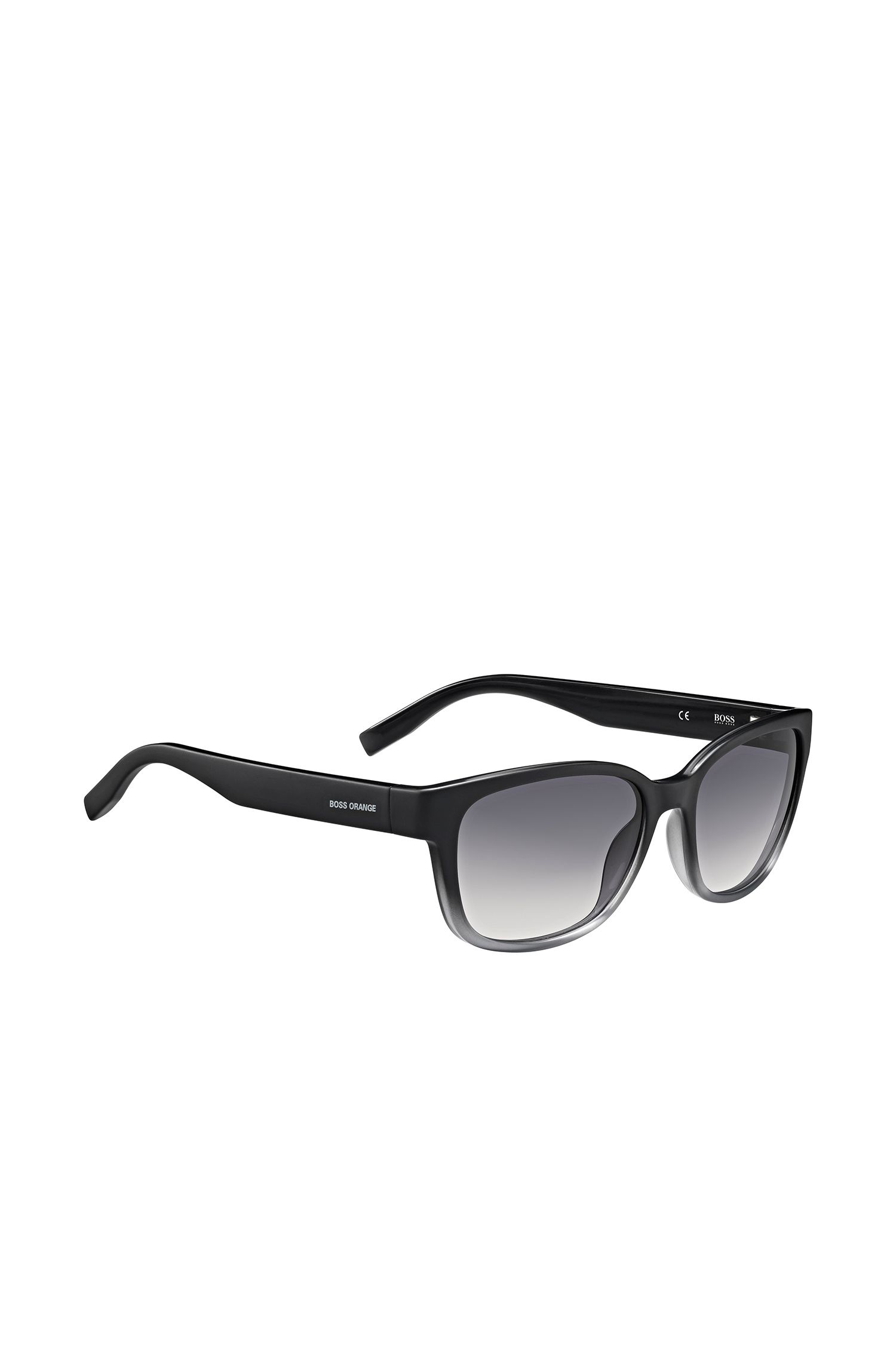Occhiali da sole neri e grigi in stile Cat Eye: 'BO0251/1'