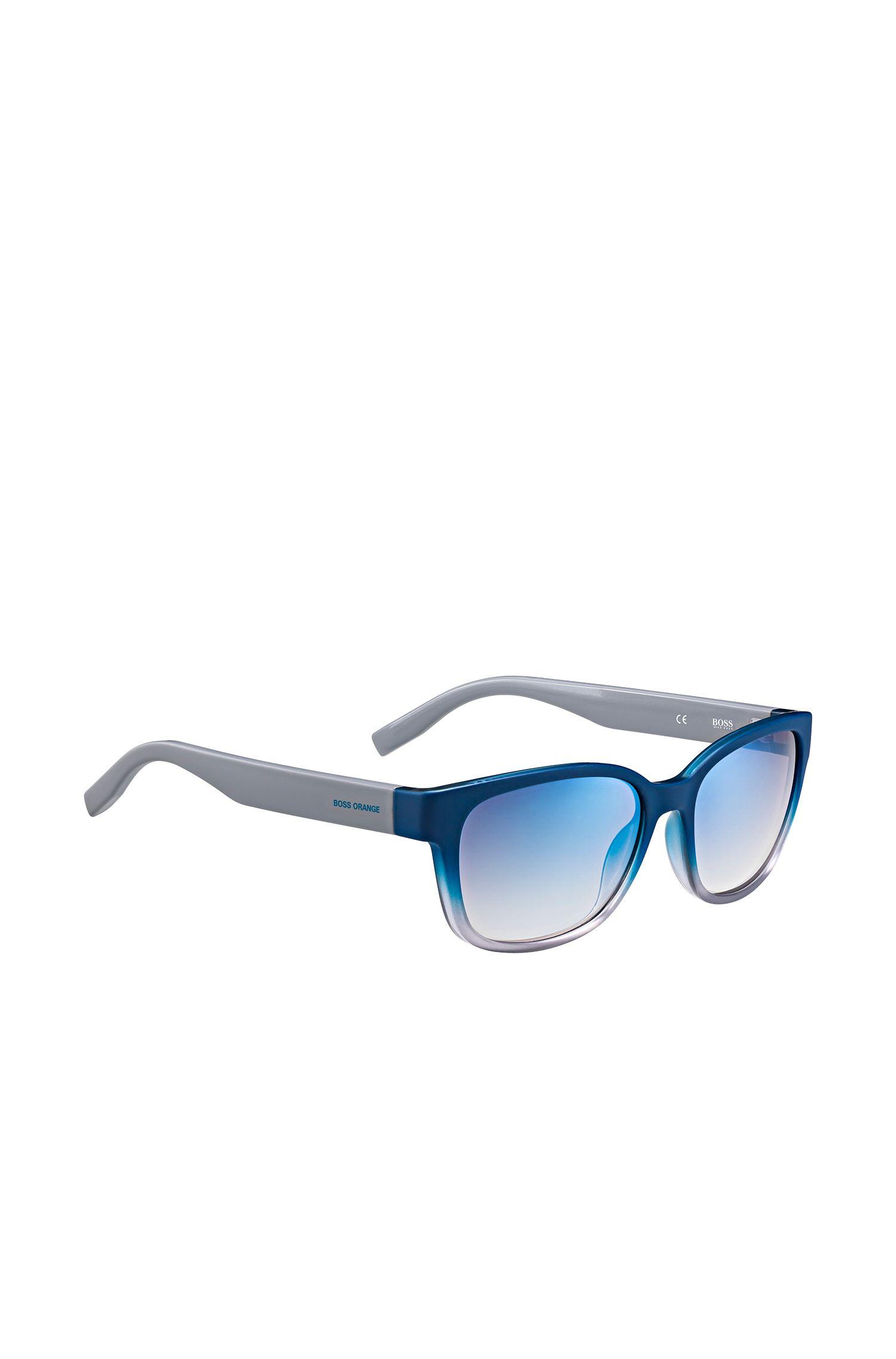 Lunettes de soleil bleues de style œil-de-chat: «BO0251/1»