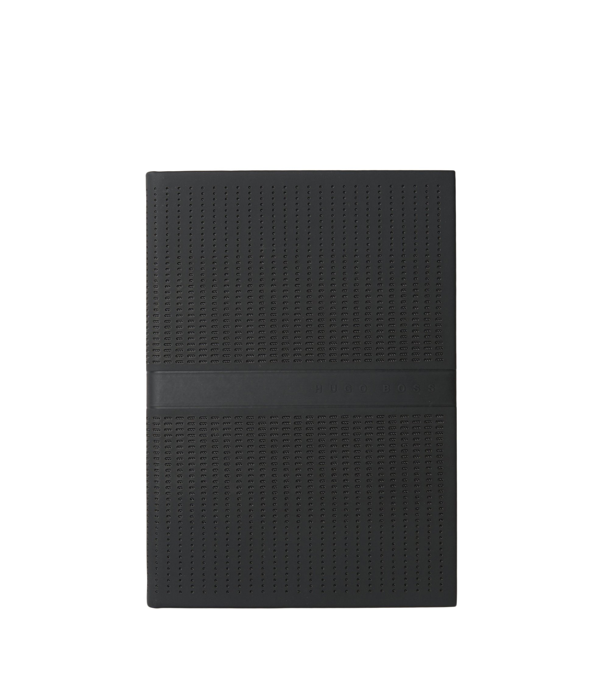 DIN A6 Notizbuch mit Click-Verschluss: 'New Loop', Schwarz