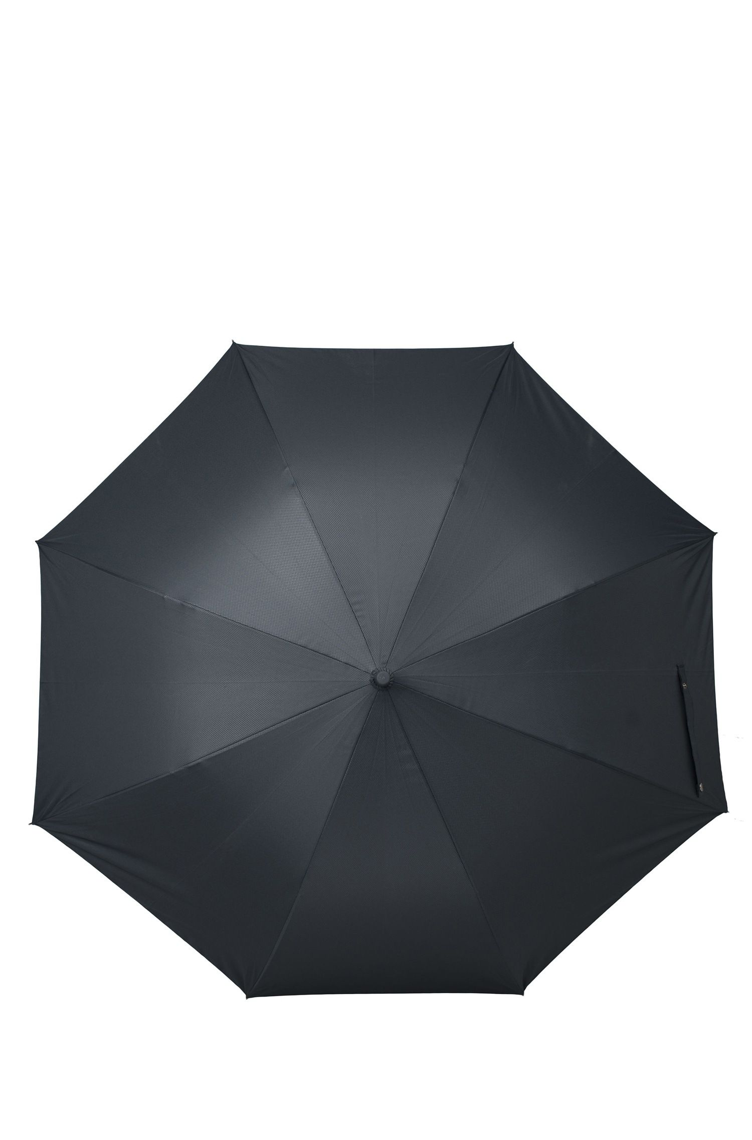 Large umbrella in dark-blue diamond pattern, Dark Blue