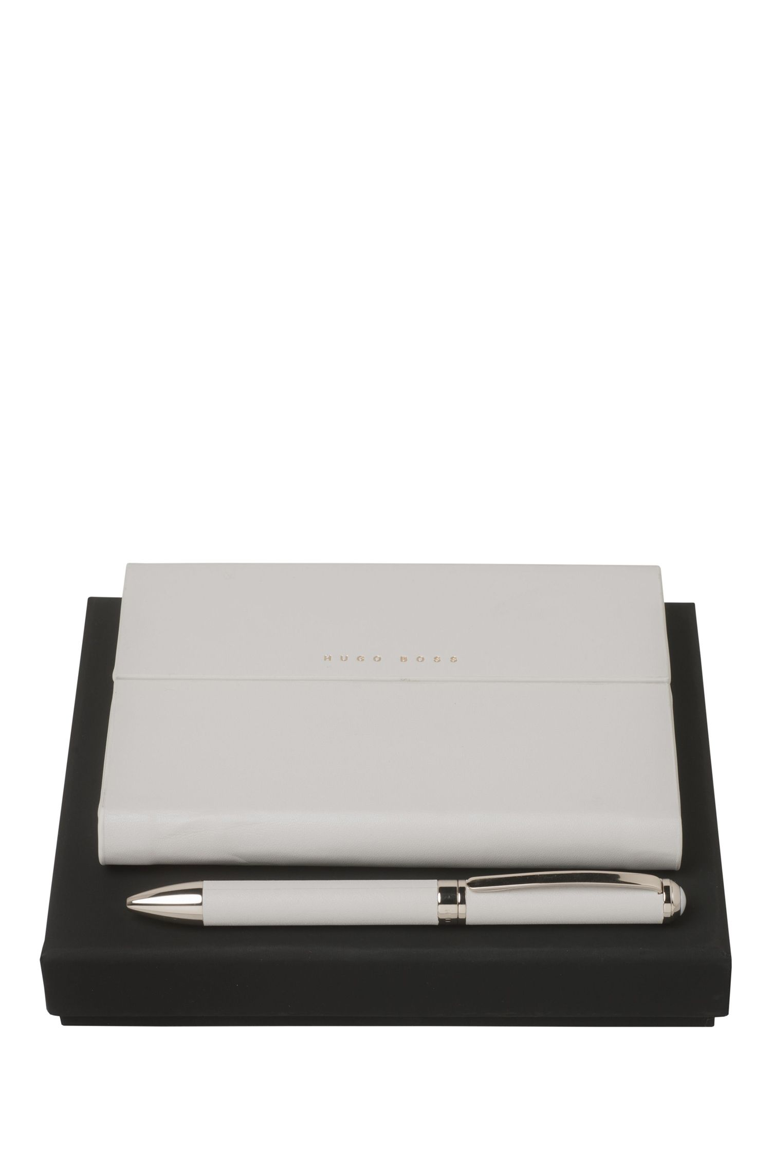 Notepad and ballpoint pen gift set