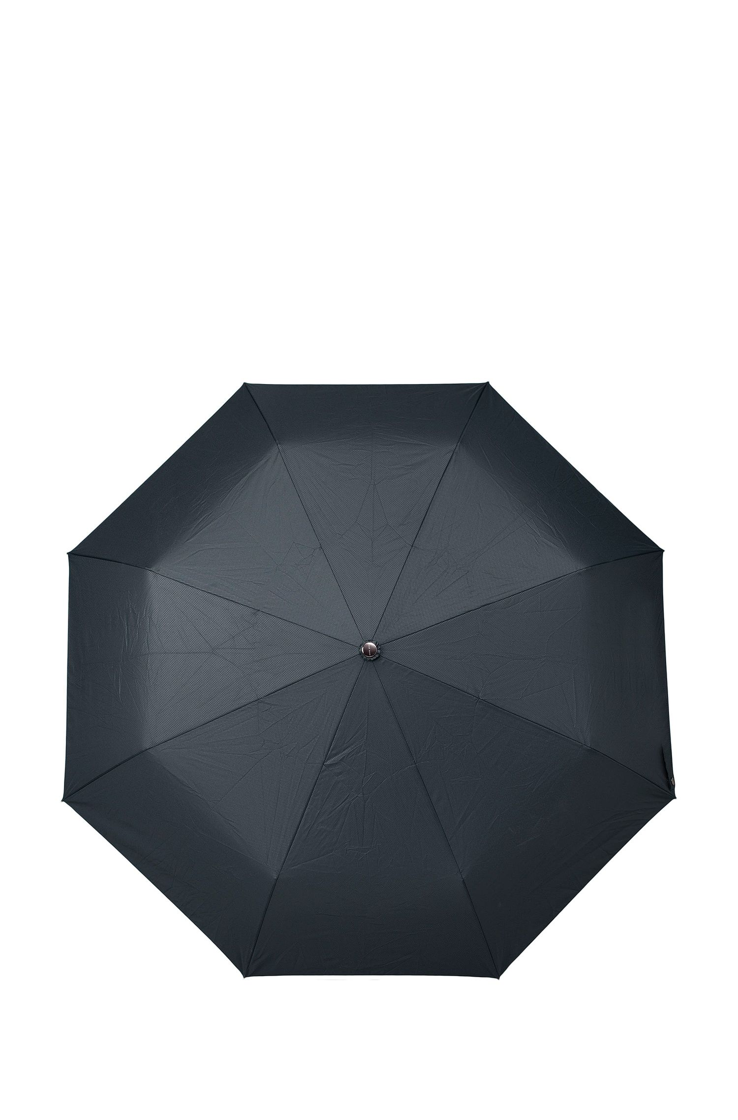 Dark-blue pocket umbrella with automatic release, Blue