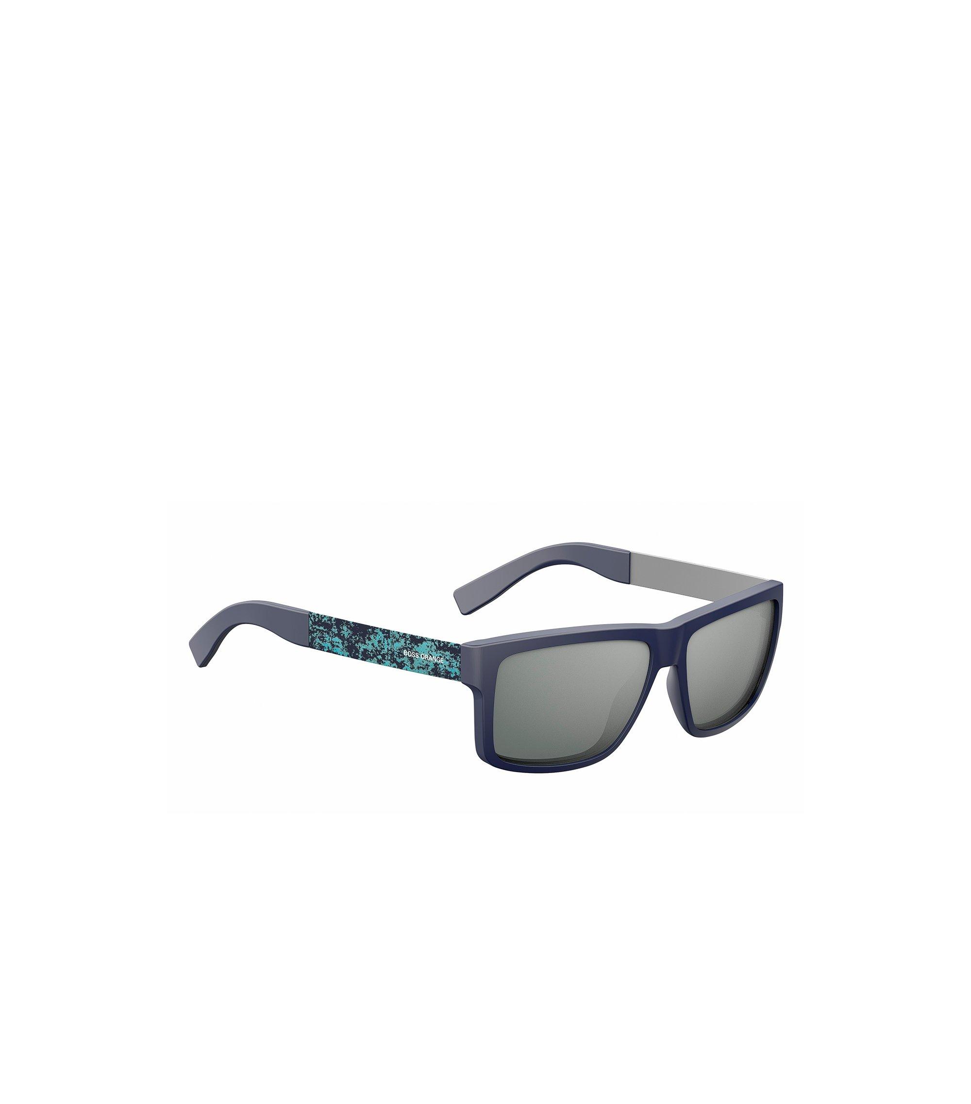 Blauwe zonnebril van acetaat en roestvrij staal: 'BOSS 0838/S', Assorted-Pre-Pack