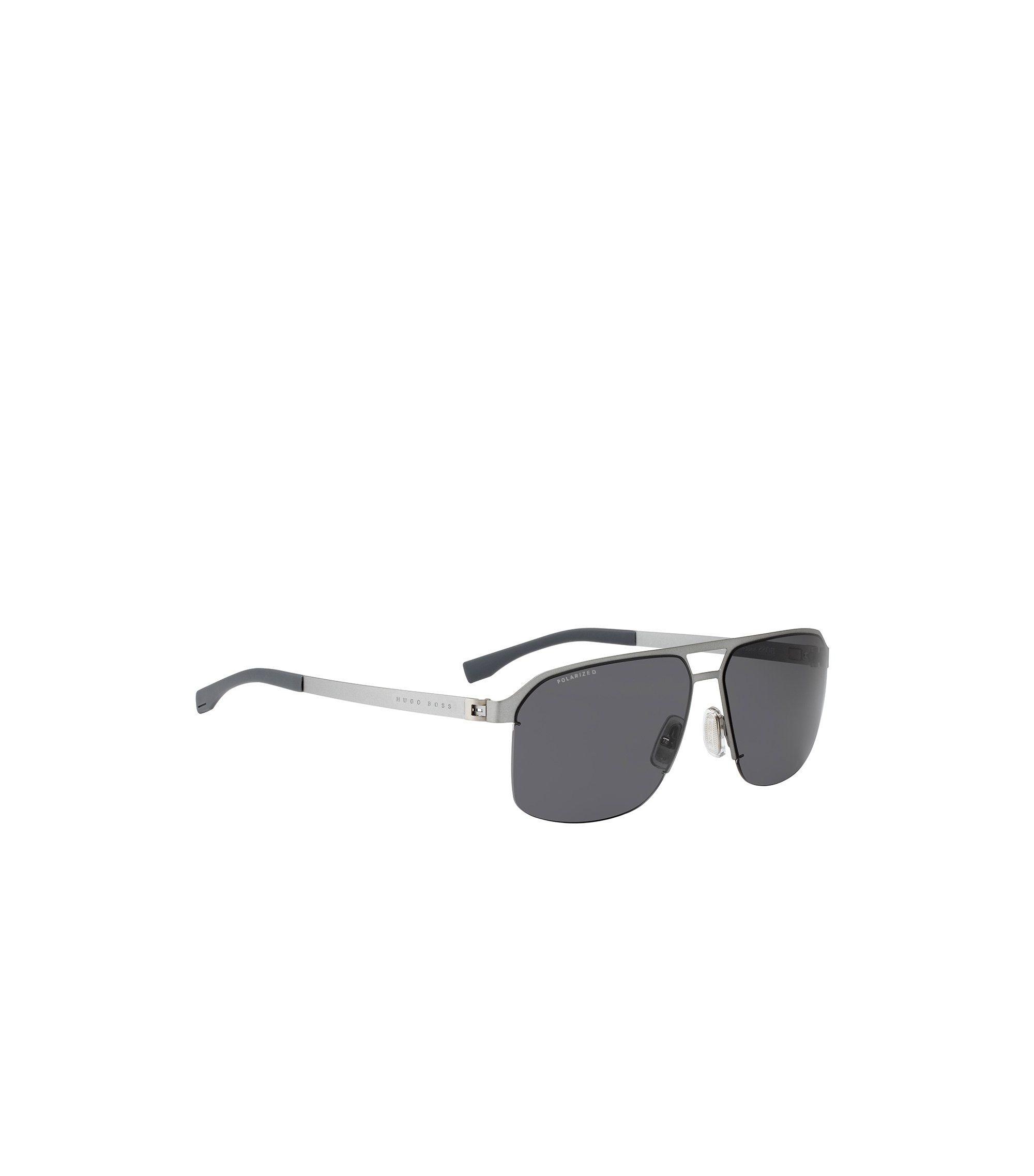 Metal navigator sunglasses with polarised lenses: 'BOSS 0839/S', Assorted-Pre-Pack