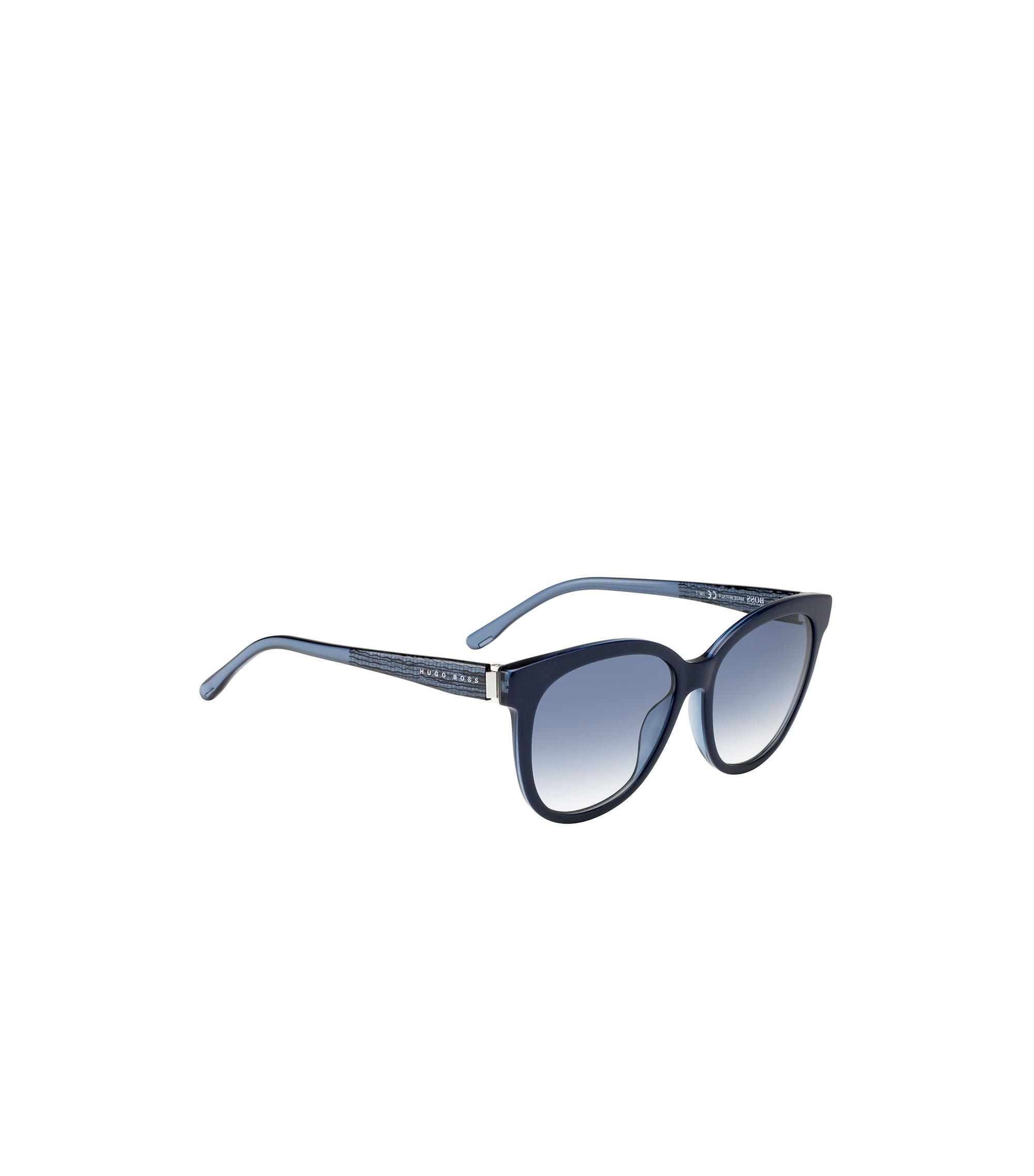 Sunglasses with fully-rimmed frames and transparent temples: 'BOSS 0849/S', Assorted-Pre-Pack