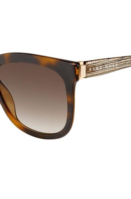 Sonnenbrille mit Vollrandfassung und transparenten Bügeln: 'BOSS 0850/S' CbqYSiror