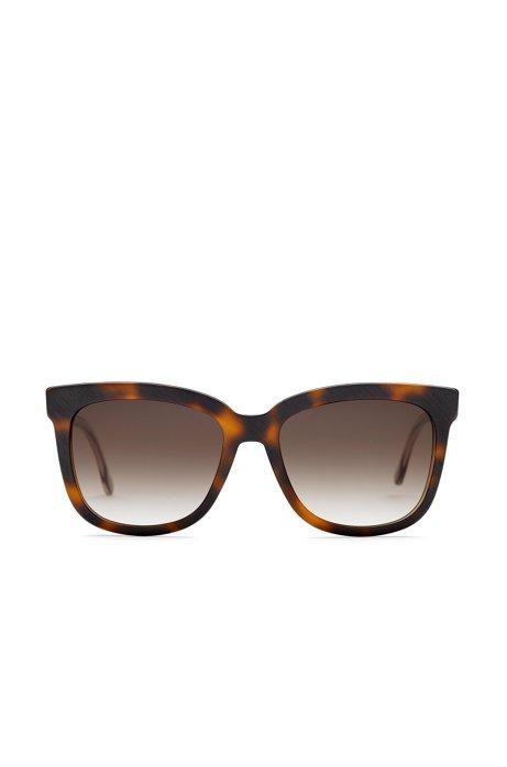 Sonnenbrille mit Vollrandfassung und transparenten Bügeln: 'BOSS 0850/S' eLFDJ9AZH3