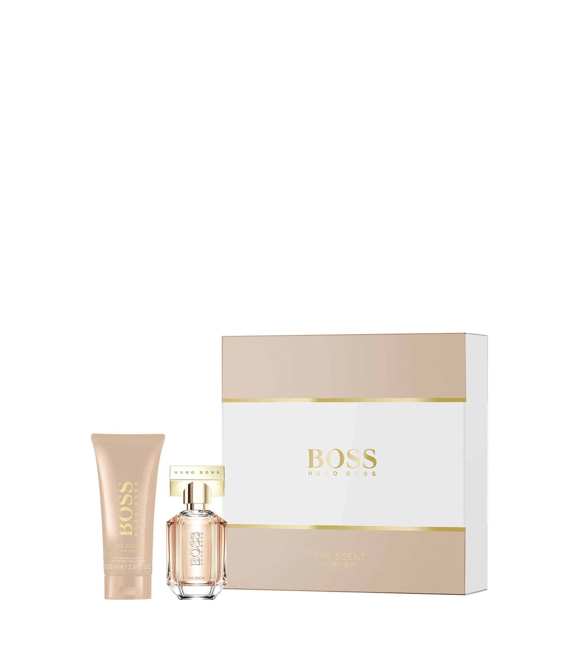 Set with 'BOSS The Scent for Her' Eau de Parfum 30 ml and Body Lotion, Assorted-Pre-Pack