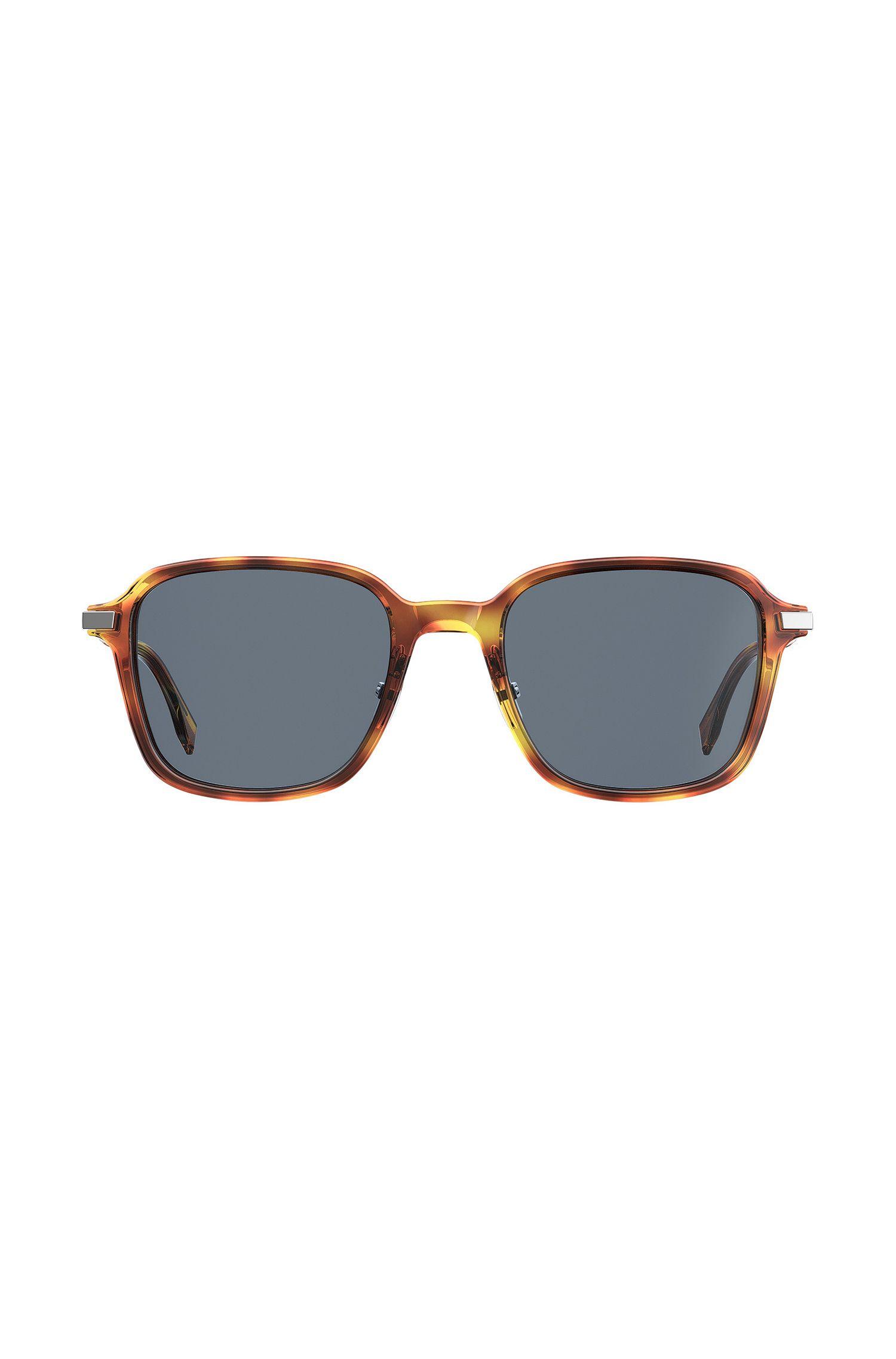 Sonnenbrille aus Acetat im Vintage-Stil mit verstellbaren Nasenpads