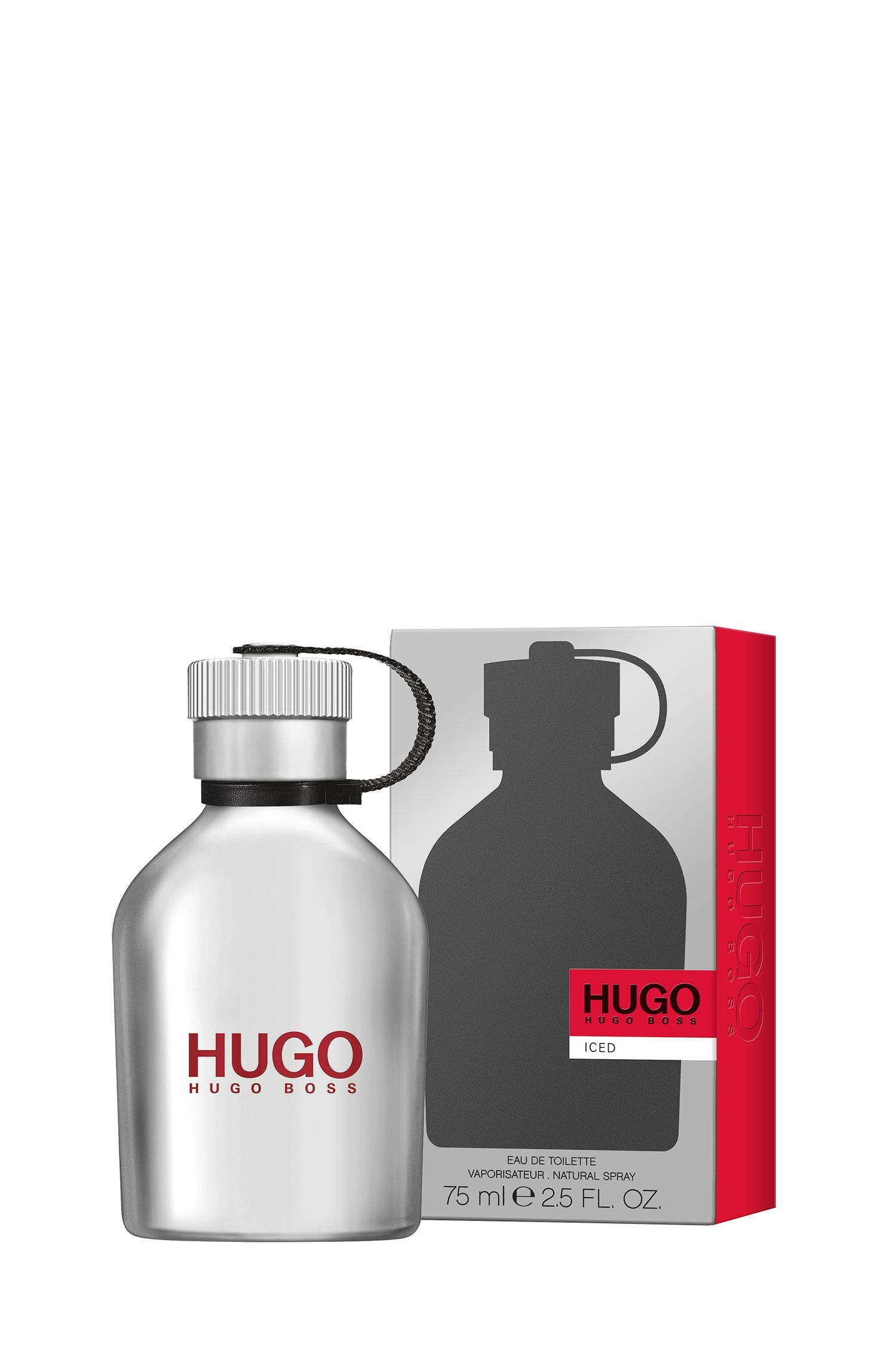 Eau de Toilette HUGO Iced, 75 ml, Assorted-Pre-Pack