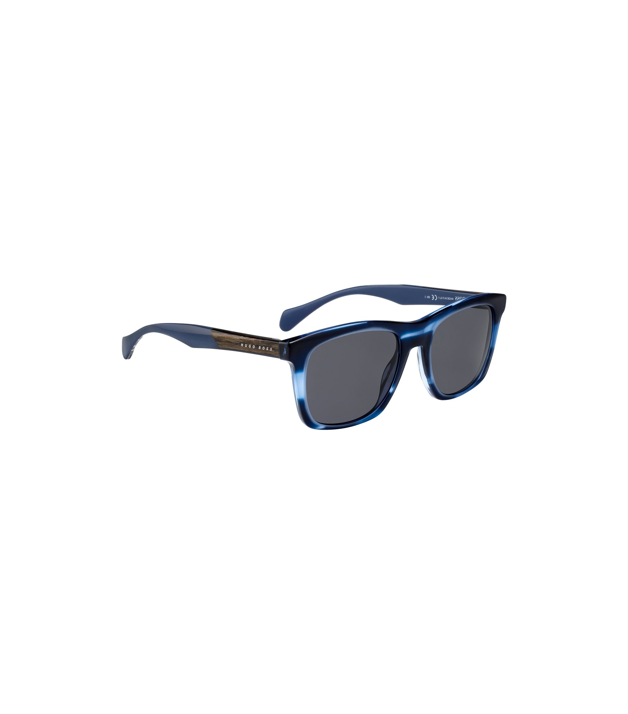 Sunglasses with coloured horn-effect frames, Assorted-Pre-Pack
