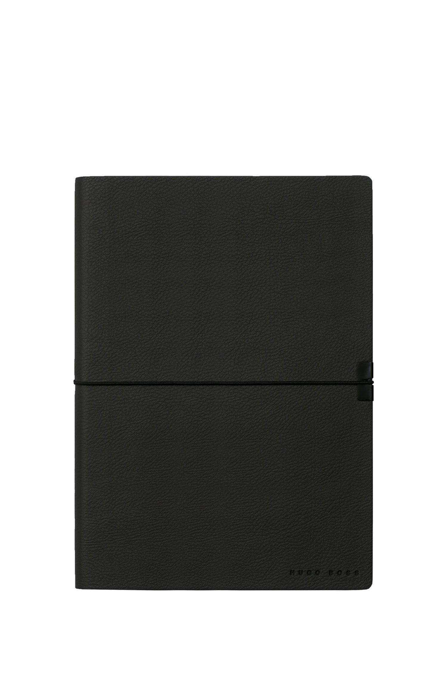 Coffret cadeau avec carnetA5 noir et stylo à bille