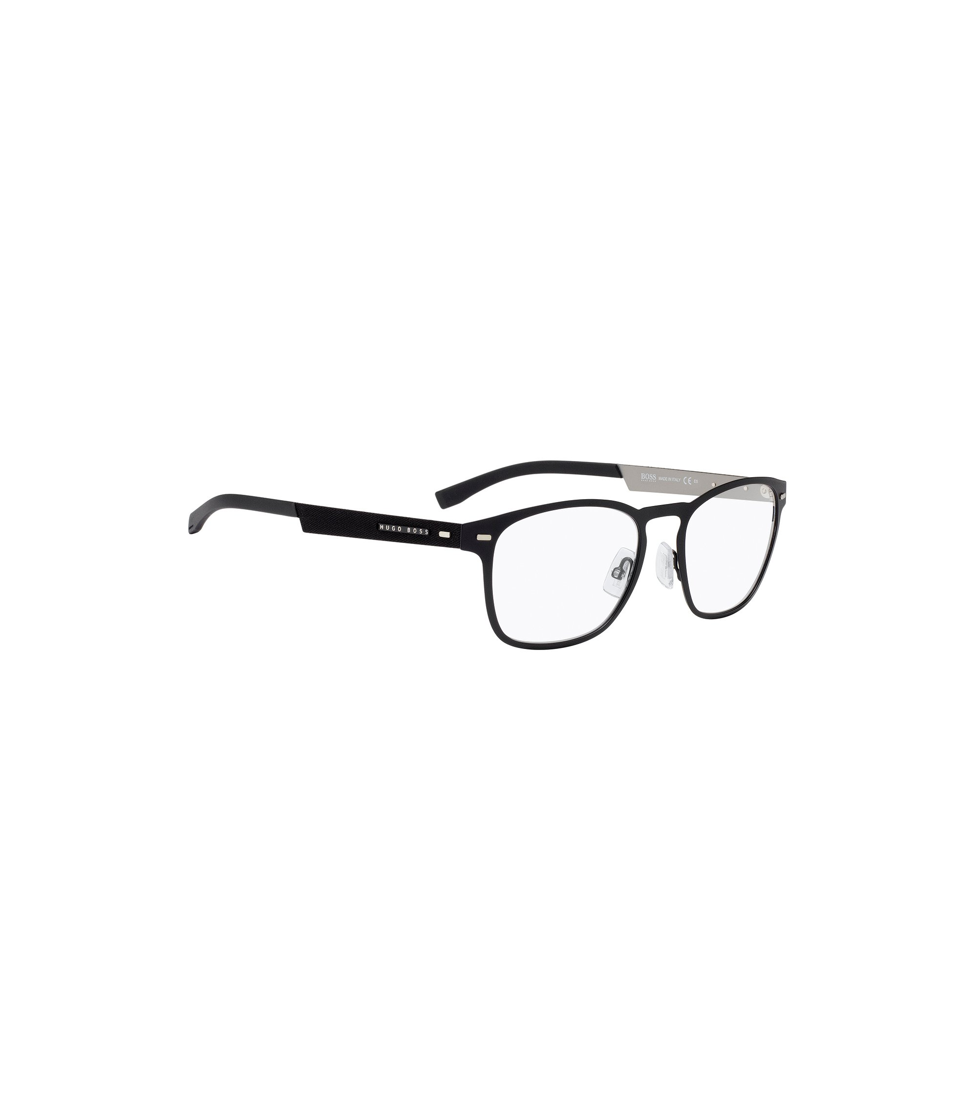 Lightweight glasses with black metal frames, Assorted-Pre-Pack