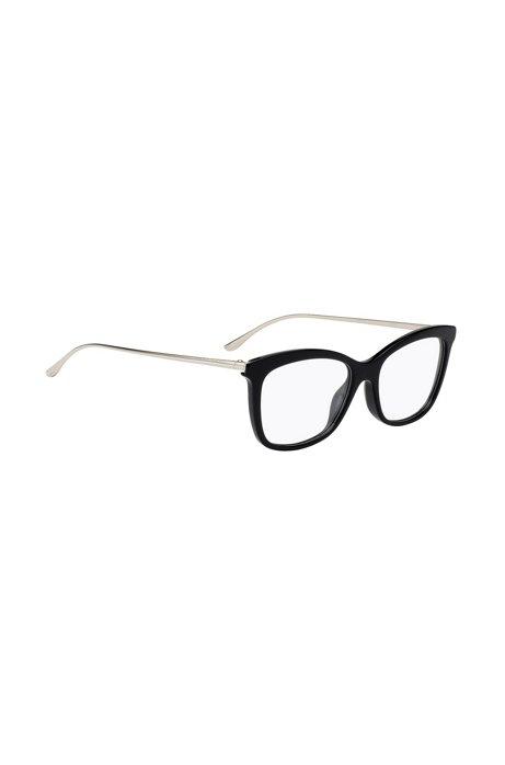 migliore vendita Super carino morbido e leggero BOSS - Occhiali leggeri con montatura in acetato nero