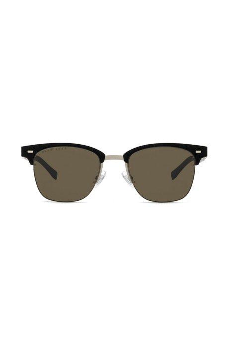 Sonnenbrille aus leichtem Metall mit handgefertigten Details FSESMCVc