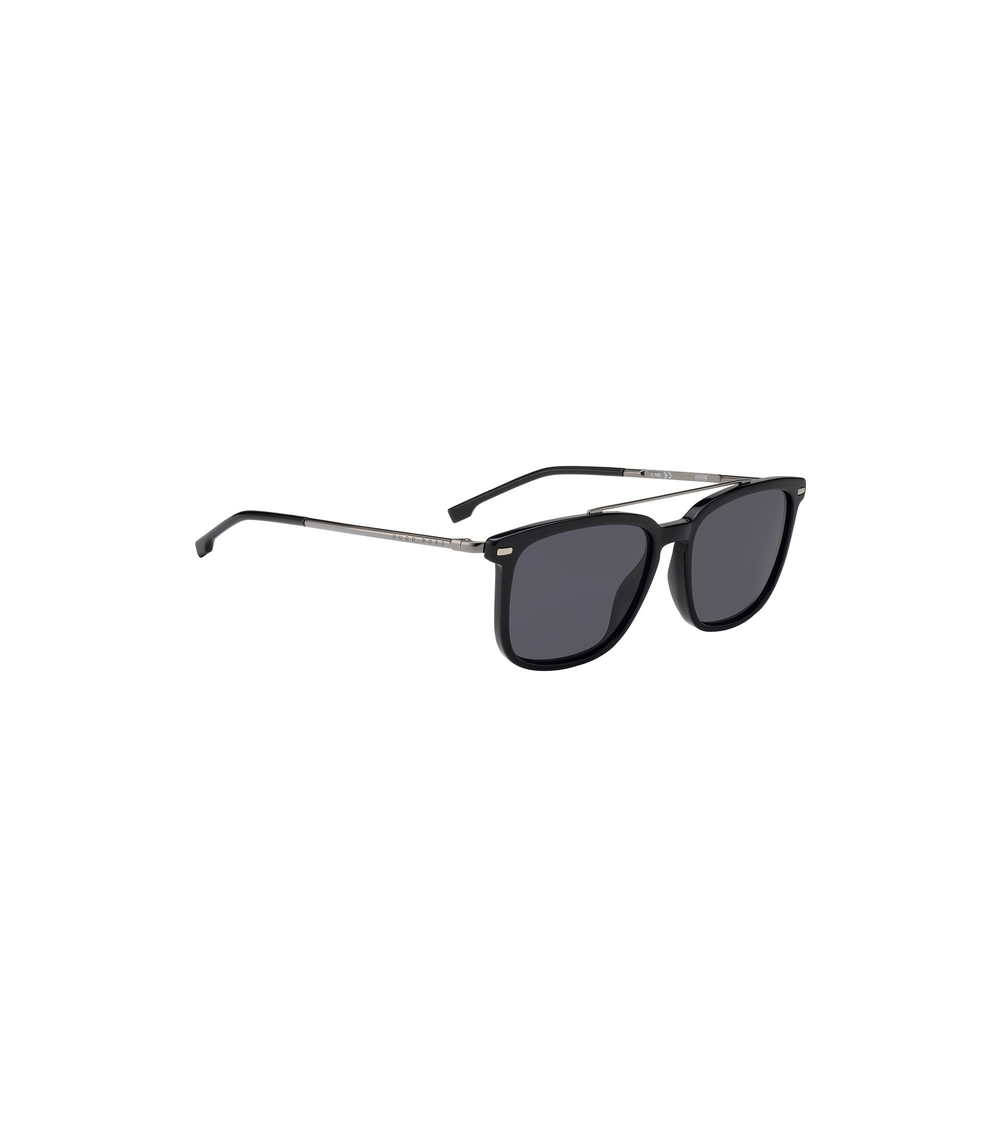 Ultralight sunglasses in metal and matte acetate, Assorted-Pre-Pack
