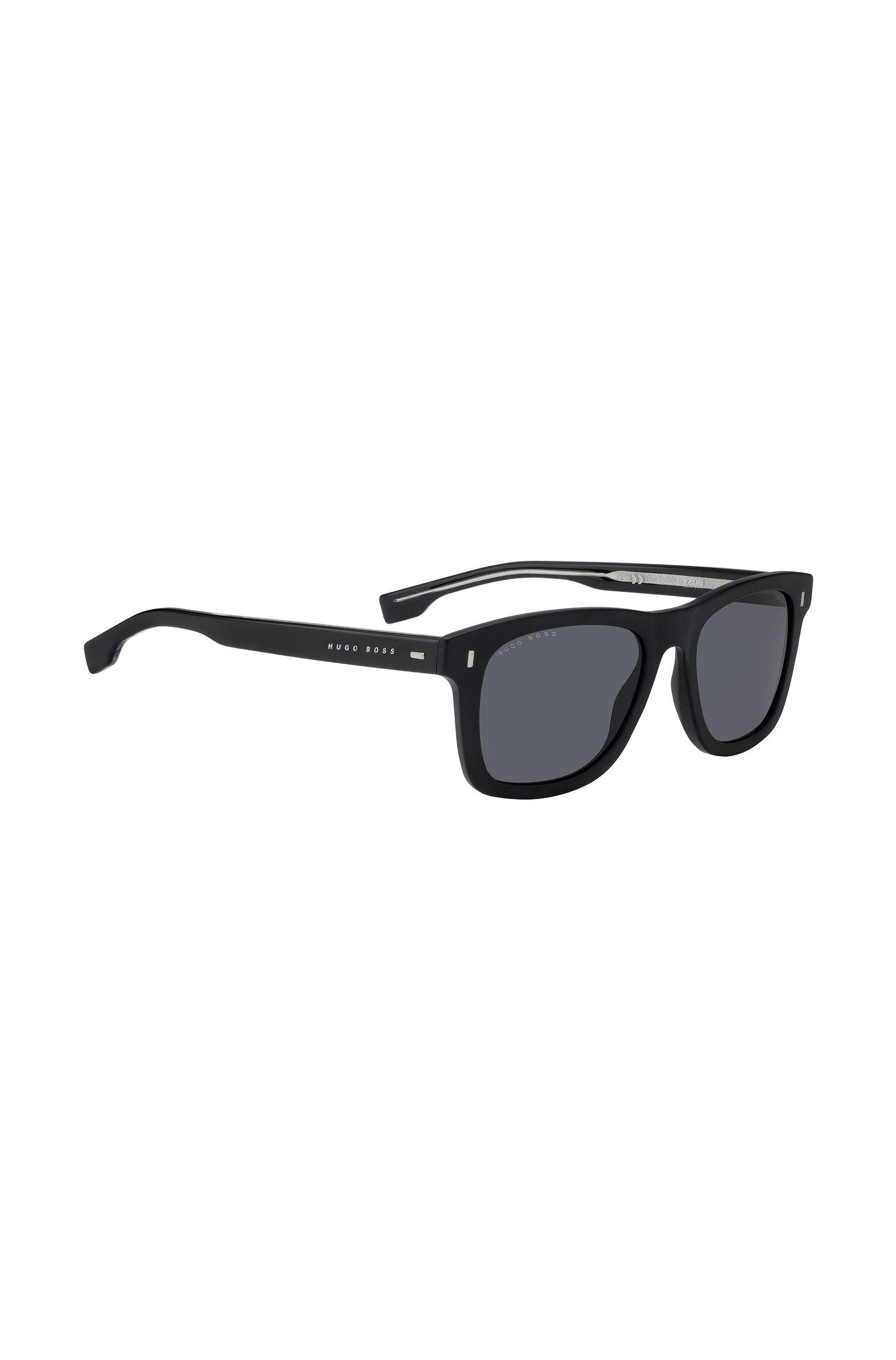 Gafas de sol de estilo Wayfarer en acetato de alta densidad