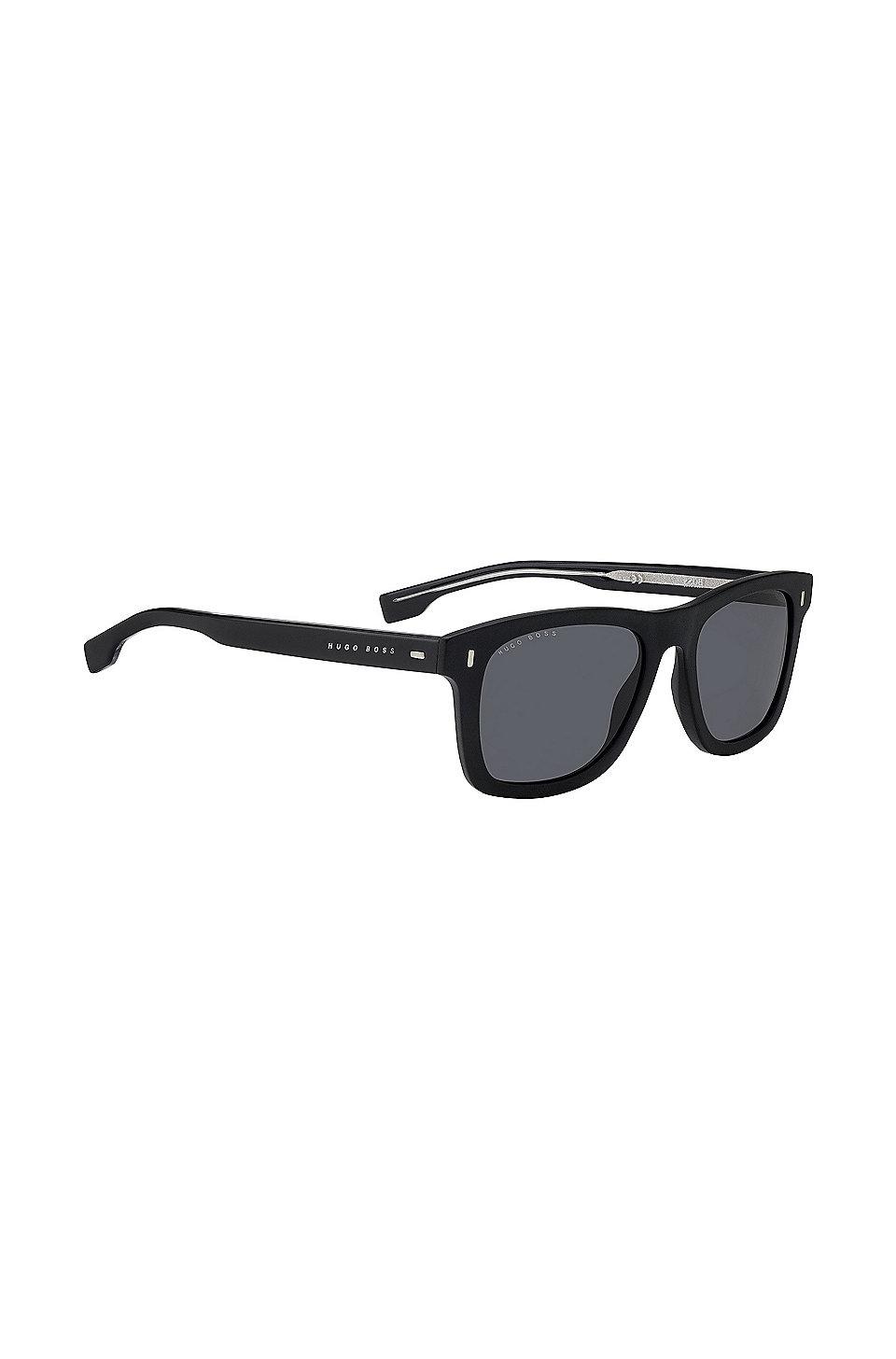 Sonnenbrille aus robustem Acetat im Wayfarer-Stil 63hfAlDQq