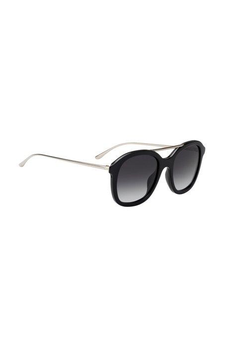 Sonnenbrille aus Acetat mit Doppelsteg cNKHAF