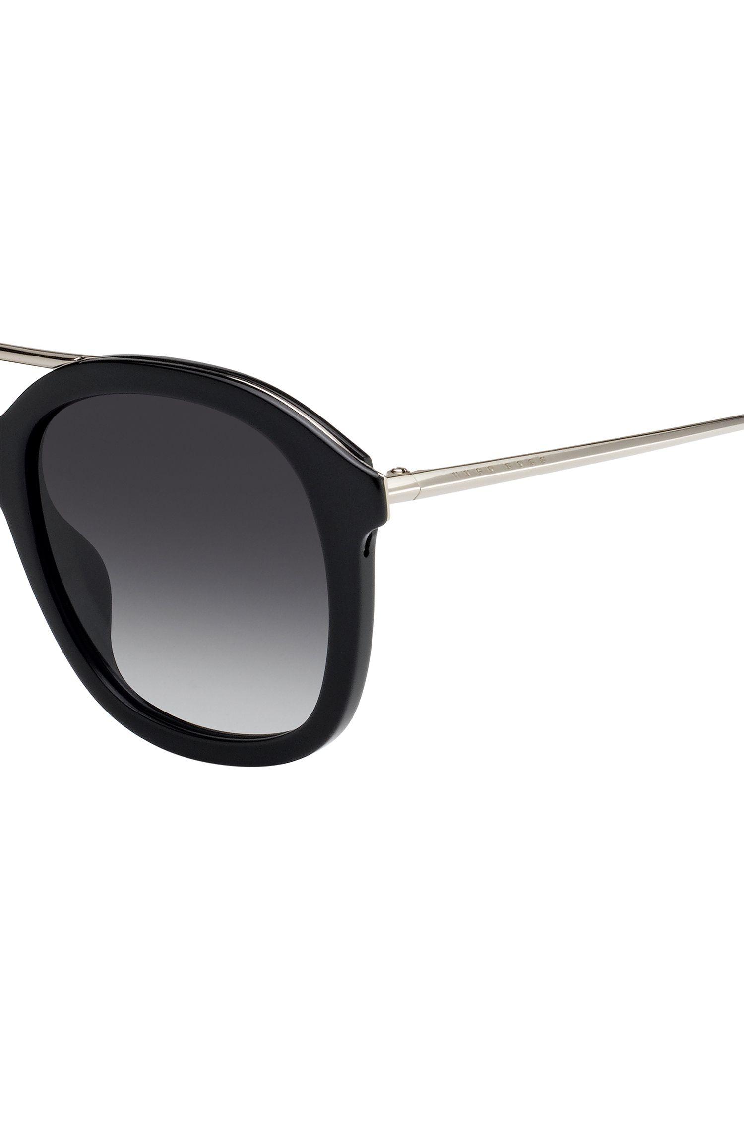 Acetate sunglasses with double bridge BOSS