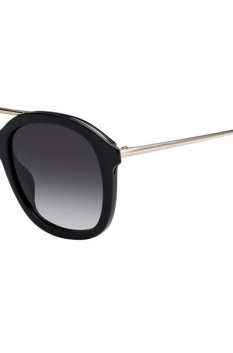 Acetate sunglasses with double bridge BOSS yuxtd