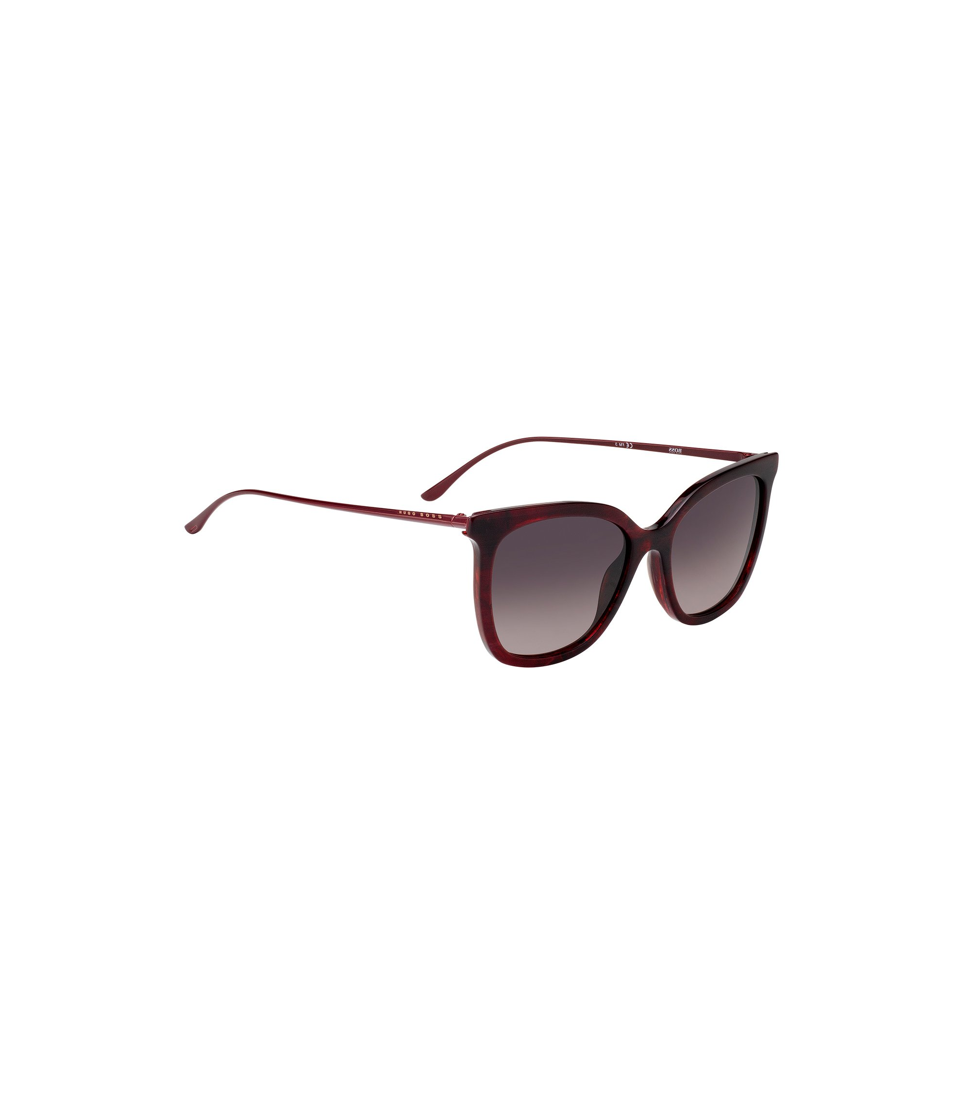 Acetate sunglasses with butterfly temples, Assorted-Pre-Pack