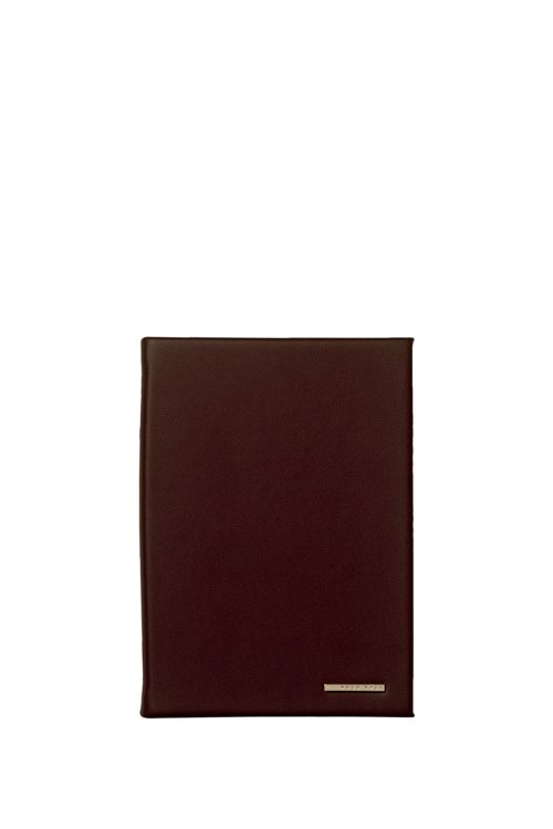 Hugo Boss - DIN-A6-Notizbuch aus Kunstleder mit Logo-Applikation - 1