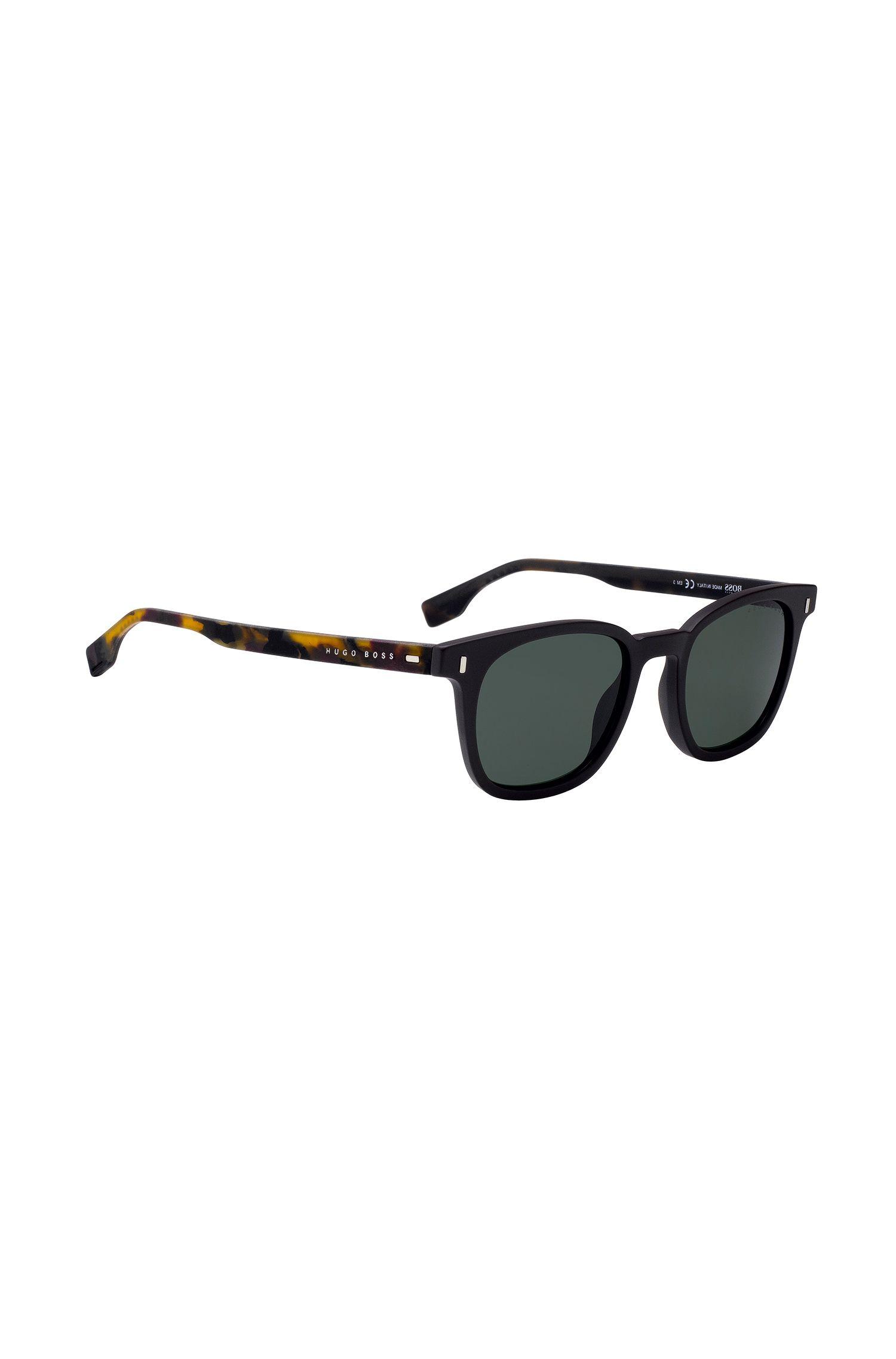 Sonnenbrille aus Acetat mit Havanna-Gummibügeln, Assorted-Pre-Pack