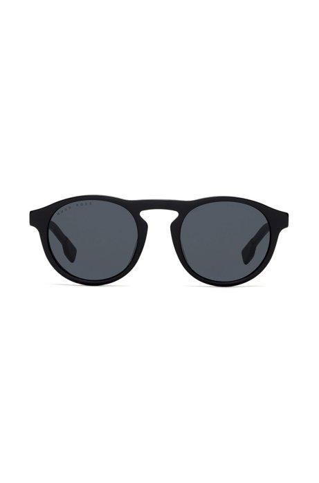 Sonnenbrille aus Acetat mit Schlüssellochsteg e0EBrl