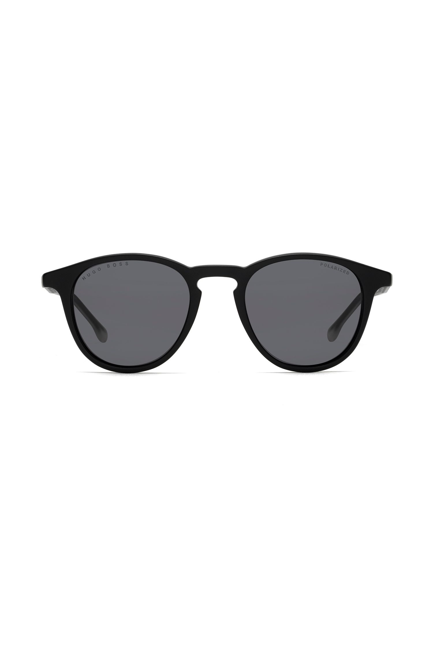Optyl sunglasses with polarised lenses, Black