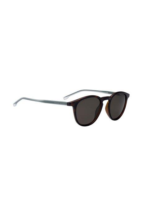 Sonnenbrille aus Optyl mit polarisierten Gläsern und Havanna-Muster 8NbeR0c