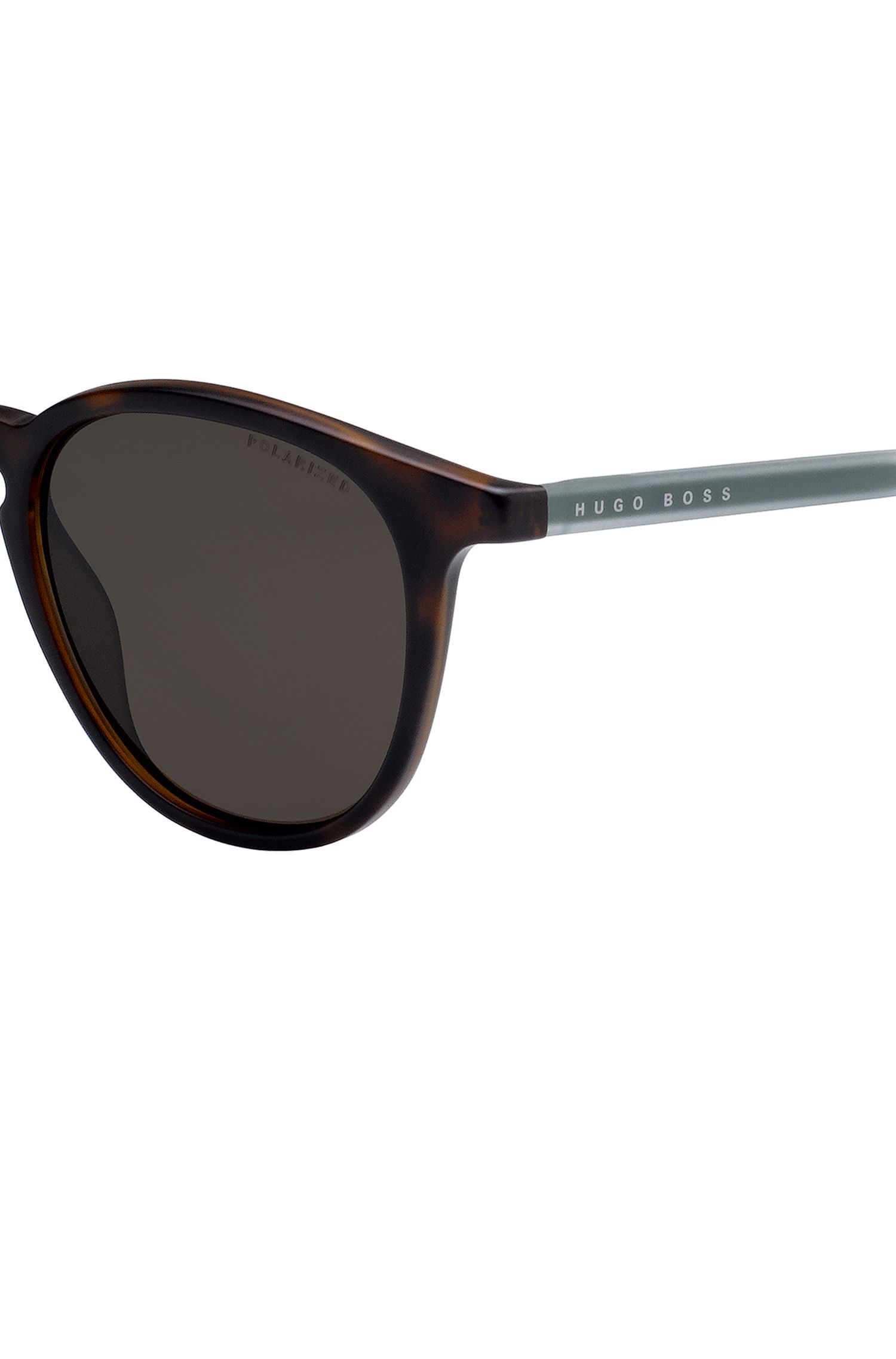 Occhiali da sole in Optyl Avana con lenti polarizzate