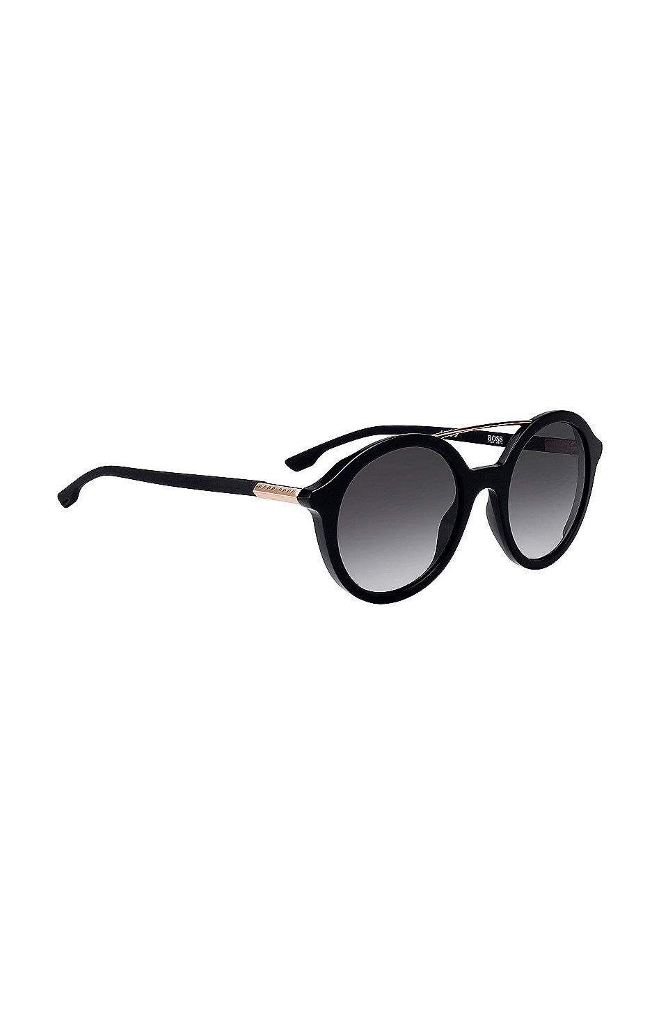 Sonnenbrille mit Acetatrahmen und Doppelsteg 5r8iCq6