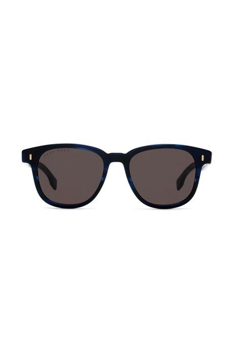 Sonnenbrille aus Acetat mit Havanna-Muster 5NtOGJGf