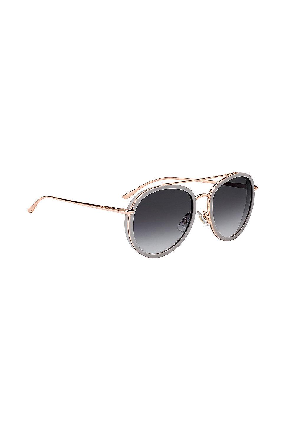 Sonnenbrille mit Doppelsteg und getönten Gläsern 1y6kA7d5S