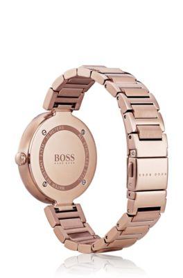 59e6751df4813 Link-bracelet watch with tonal dial