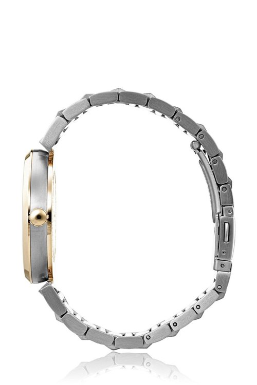 Hugo Boss - Reloj con pulsera de eslabones y detalles con chapado en oro rojo - 3