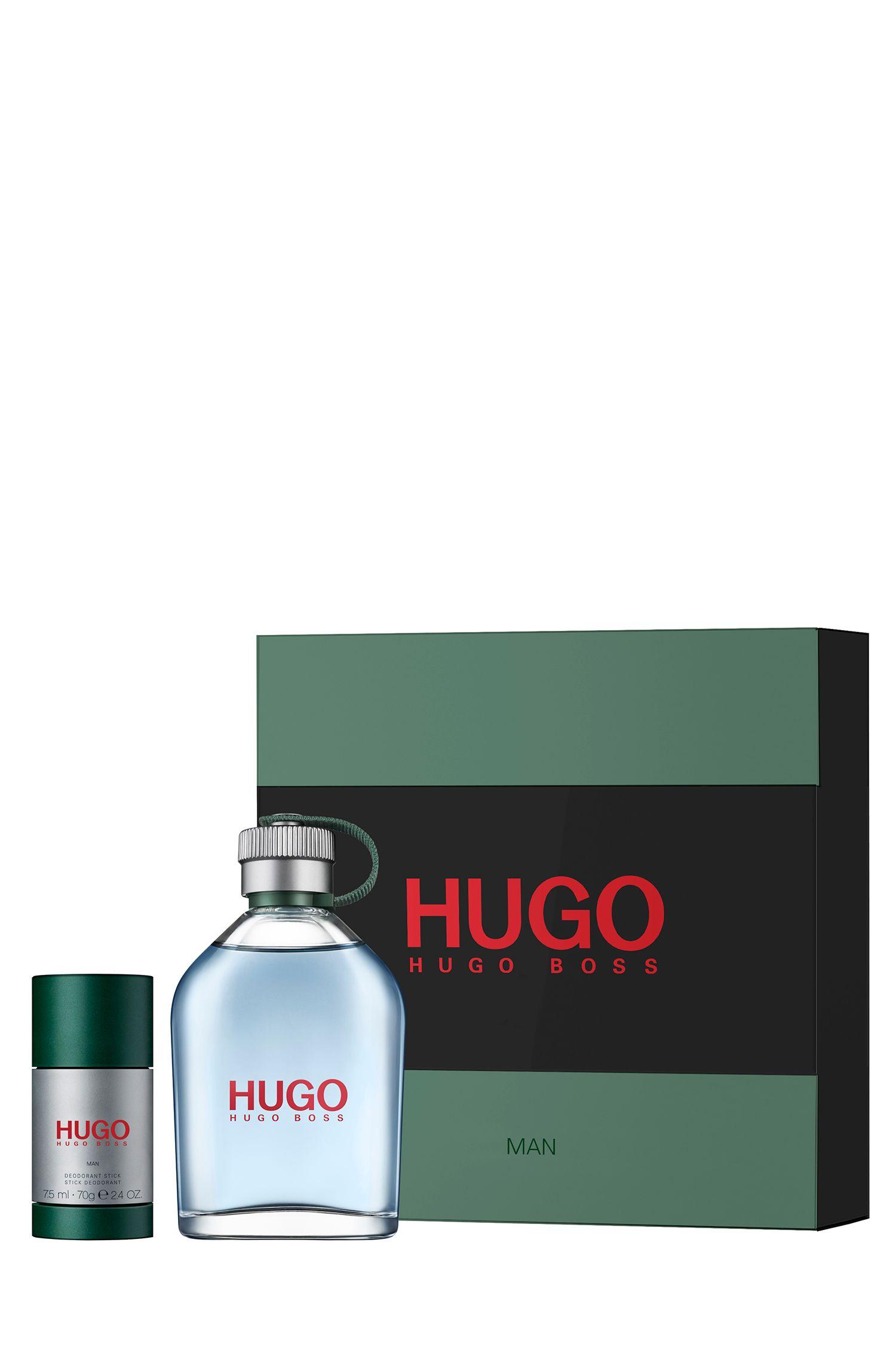 Coffret cadeau HUGO Man avec parfum et déodorant, Assorted-Pre-Pack