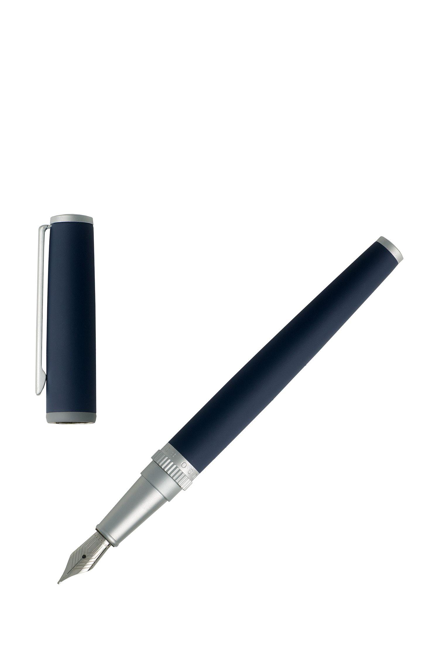 Füllfederhalter mit mattblauer Lackierung