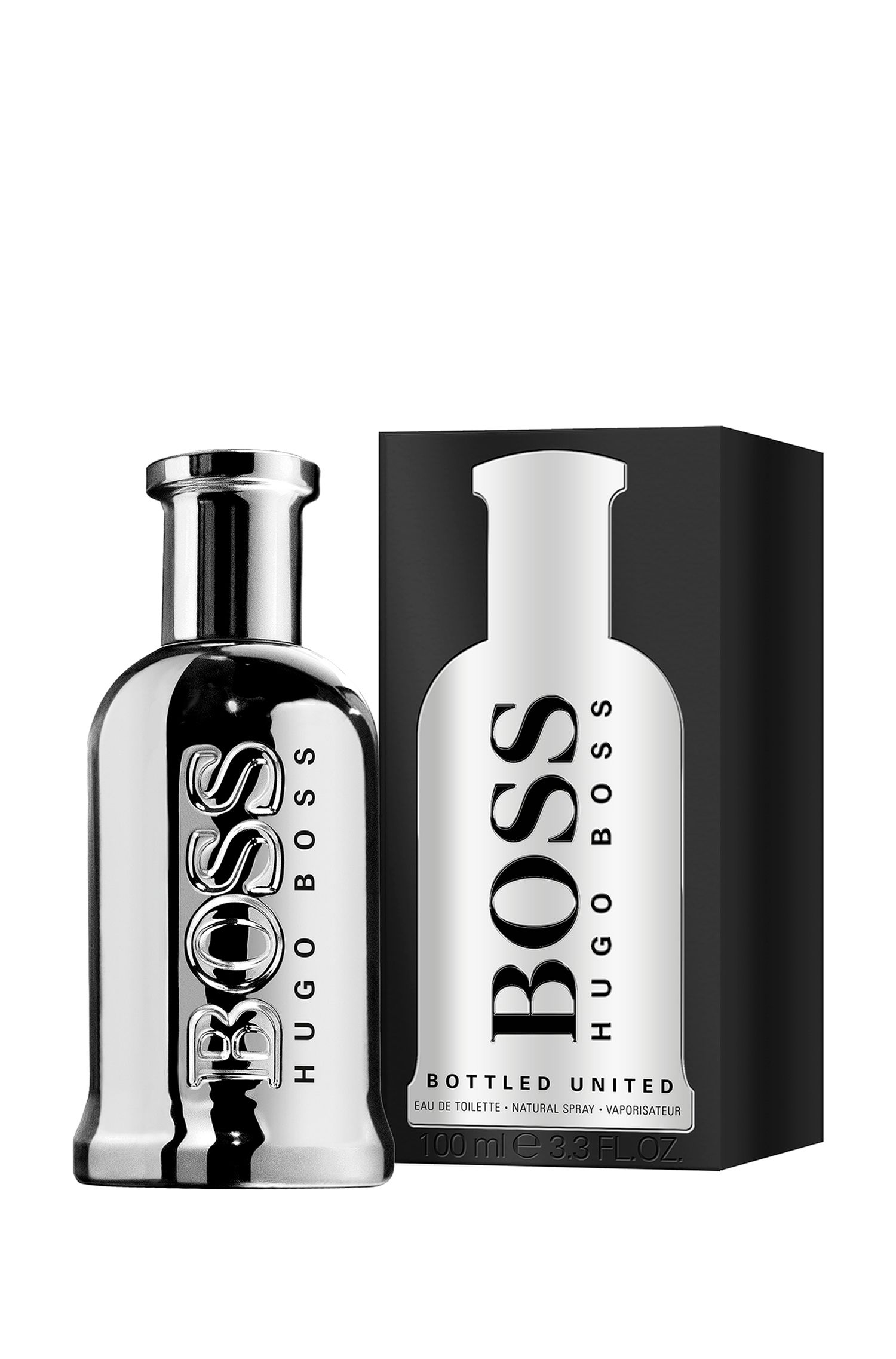 BOSS Bottled United Eau de Toilette 100 ml, Assorted-Pre-Pack
