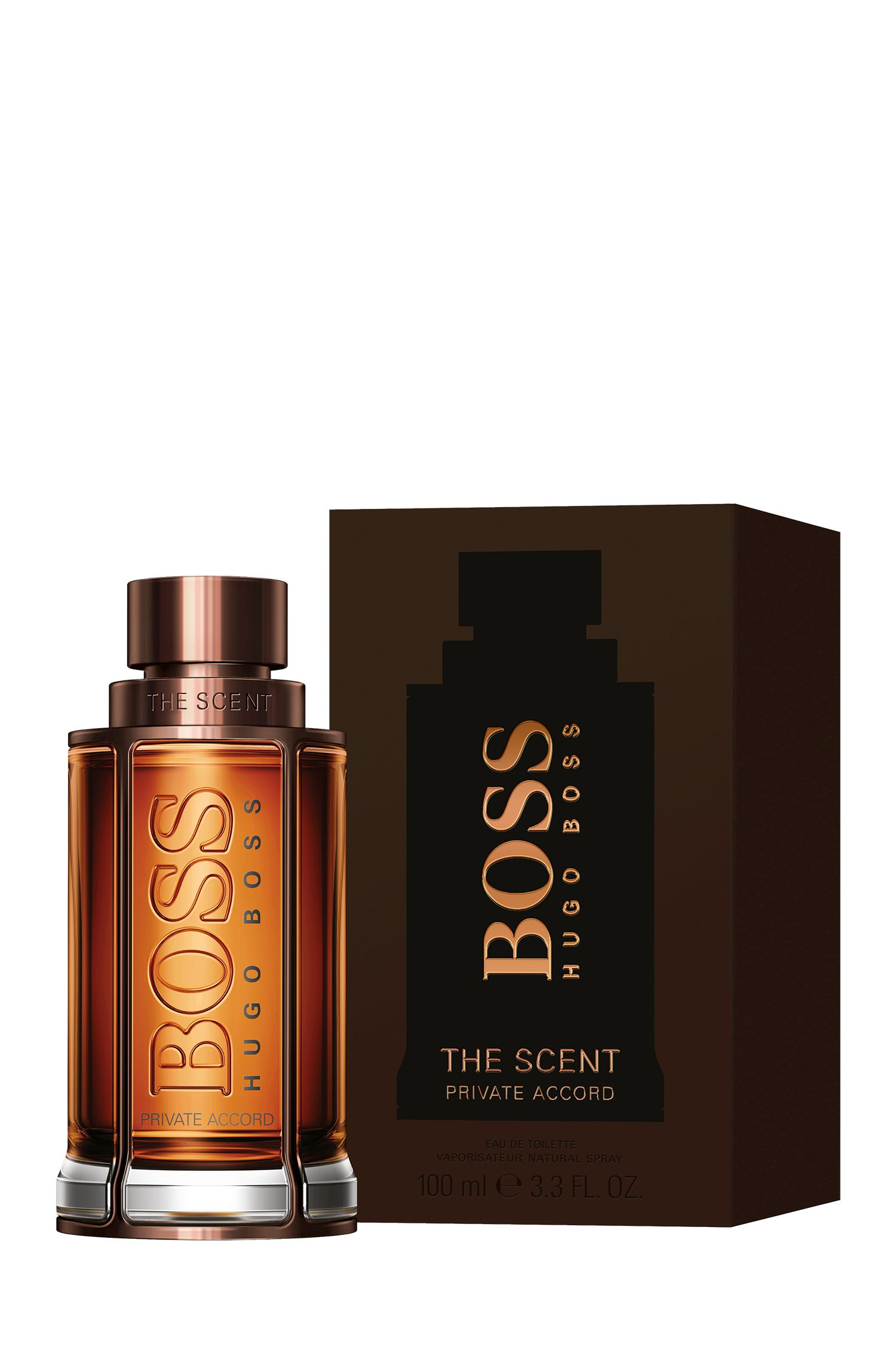 BOSS The Scent Private Accord for Him Eau de Toilette, 100 ml, Assorted-Pre-Pack