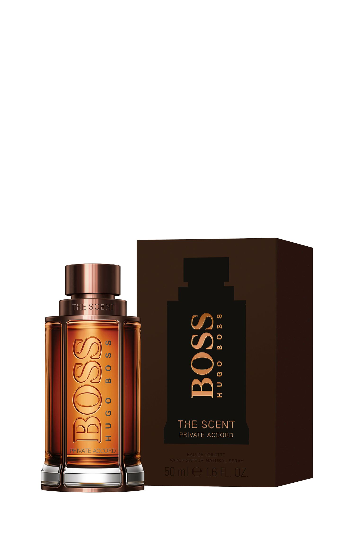 BOSS The Scent Private Accord for Him Eau de Toilette, 50 ml, Assorted-Pre-Pack