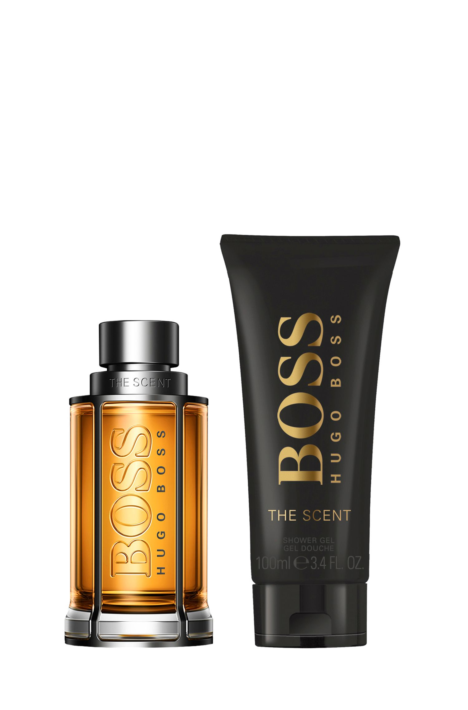 BOSS The Scent fragrance and shower gel gift set, Assorted-Pre-Pack