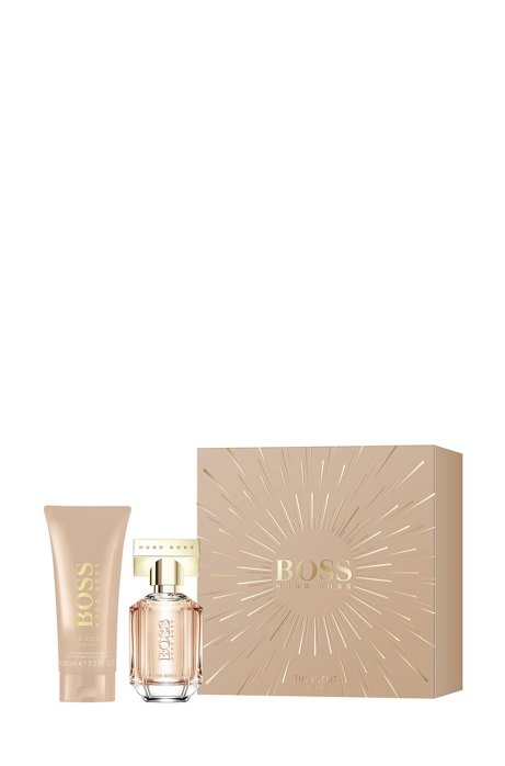 BOSS The Scent For Her fragrance and body lotion gift set, Assorted-Pre-Pack