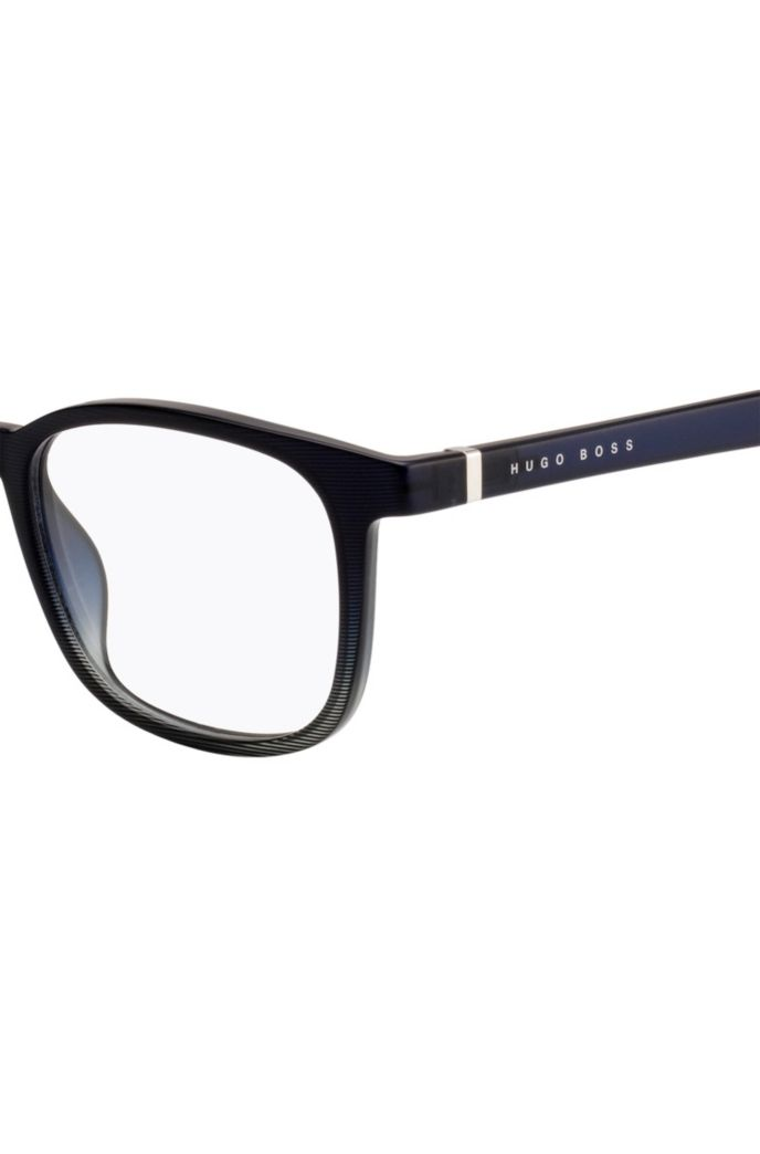 Optical glasses in optyl with finely etched frames