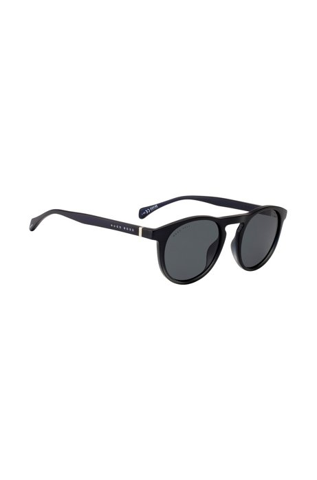 Optyl sunglasses with finely etched frames, Black