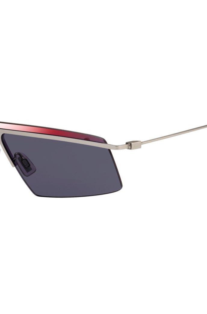 Gafas de sol de moda con patillas superfinas