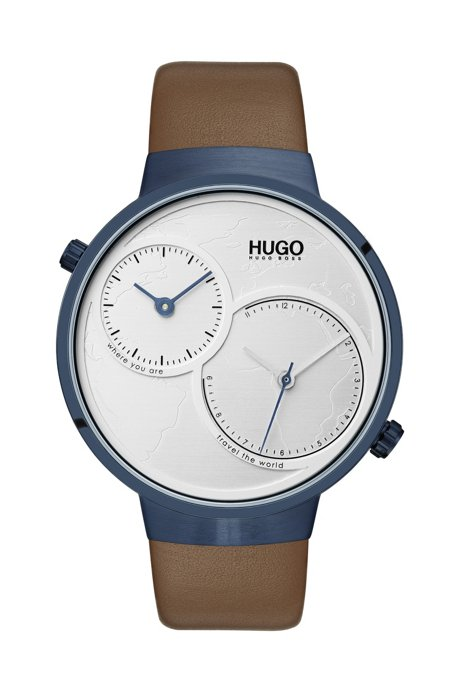 4a302b715cdc HUGO - Reloj con movimiento dual