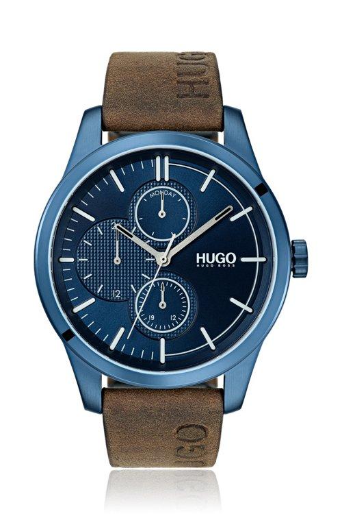 Hugo Boss - Uhr aus beschichtetem Edelstahl mit Logo-Armband - 1