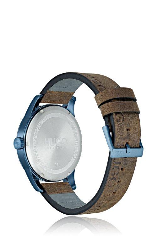 Hugo Boss - Uhr aus beschichtetem Edelstahl mit Logo-Armband - 3